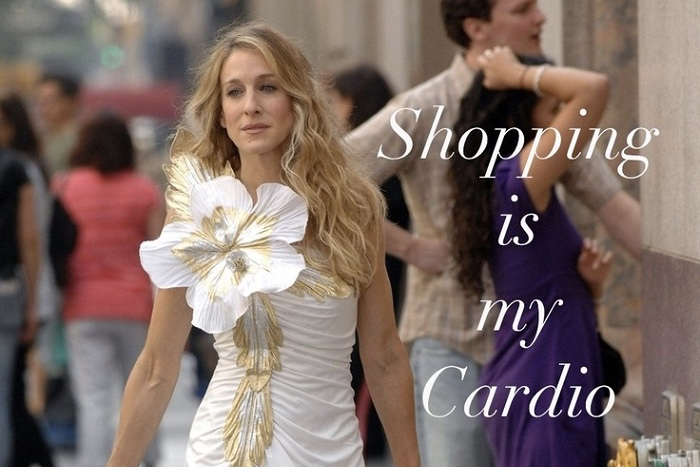 Video: Sarah Jessica Parker Will Go Shopping With You For $400! 1