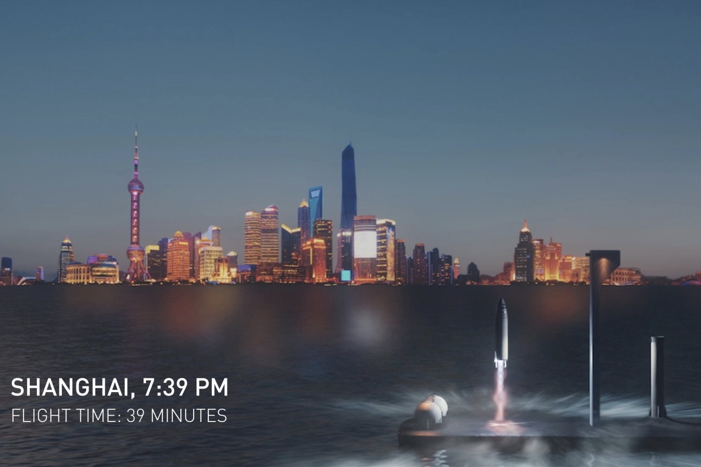 Video: Elon Musk suggests city-to-city travel by rocket,here on Earth!! 1