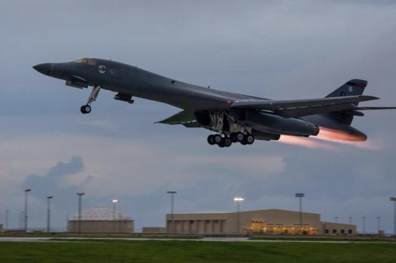 North Korea Crisis: Us Bombers Conduct Military Drills 1