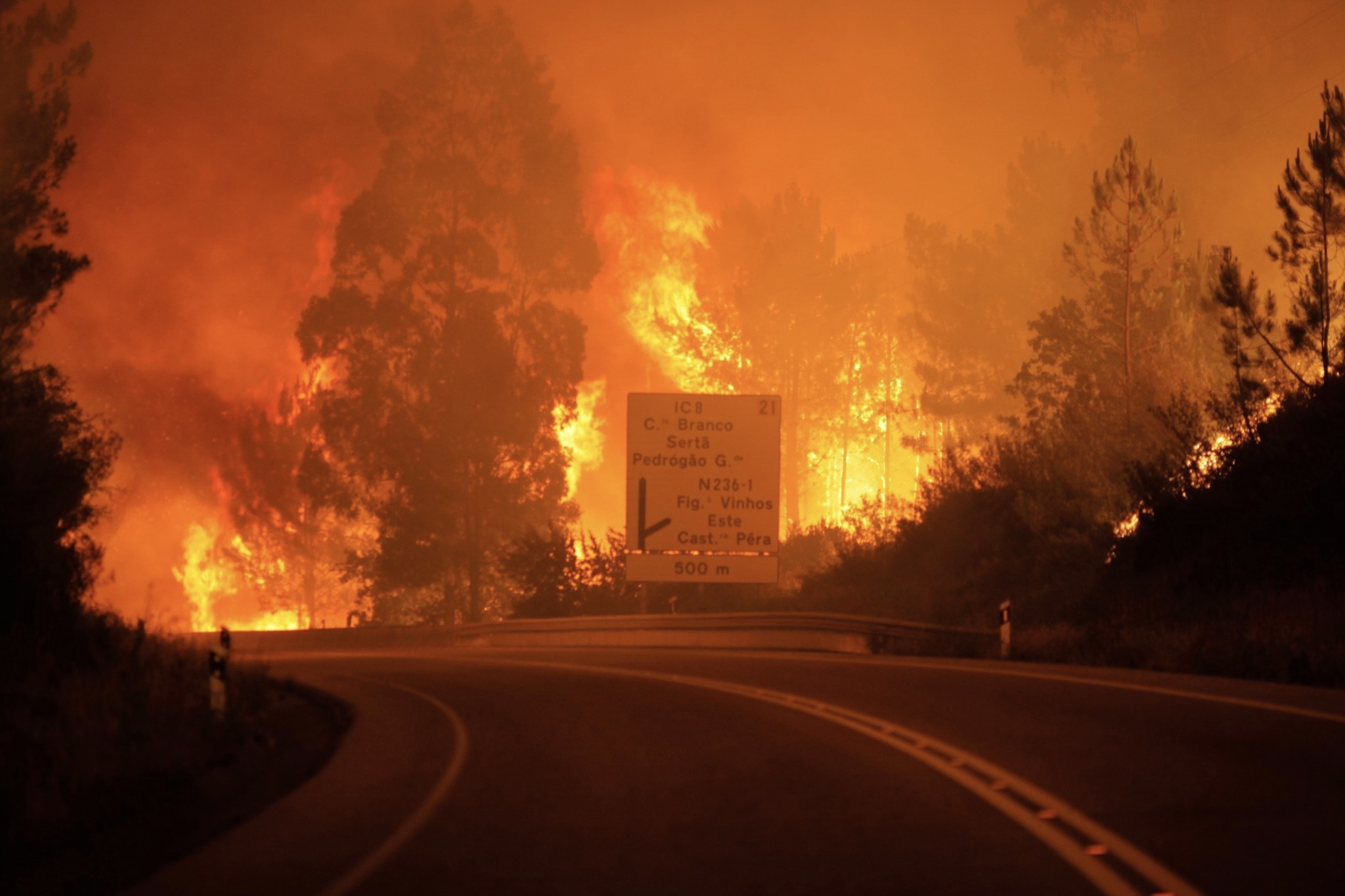 Portugal, Newsfeeds24.com, Newsfeeds, News, Wildfire, Fire, Report,Spain,