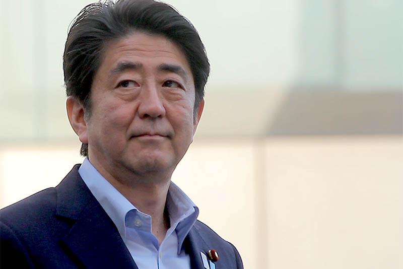 Japanese Prime Minister Shinzo Abe,election,victory,counter-measures,North Korea,Pyongyang,Japan,missiles,Tokyo,two-thirds majority,Coalition,military,defense,US, Russia and China,Donald Trump,China,Liberal Democratic Party (LDP),Komeito party,parliament,newsfeeds24,