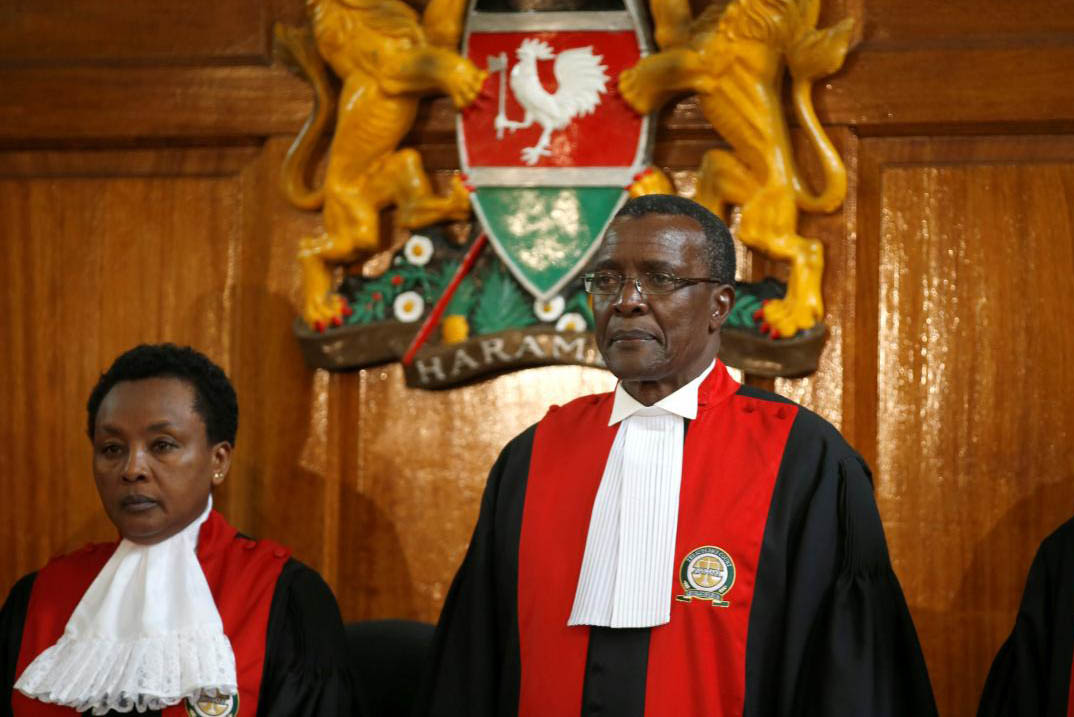 newsfeeds24,second term,President Uhuru Kenyatta,annulled,election,Judges,Deputy Chief Justice Philomena Mwilu,petition,Supreme Court Nairobi,Chief Justice David Maraga,Kenya,