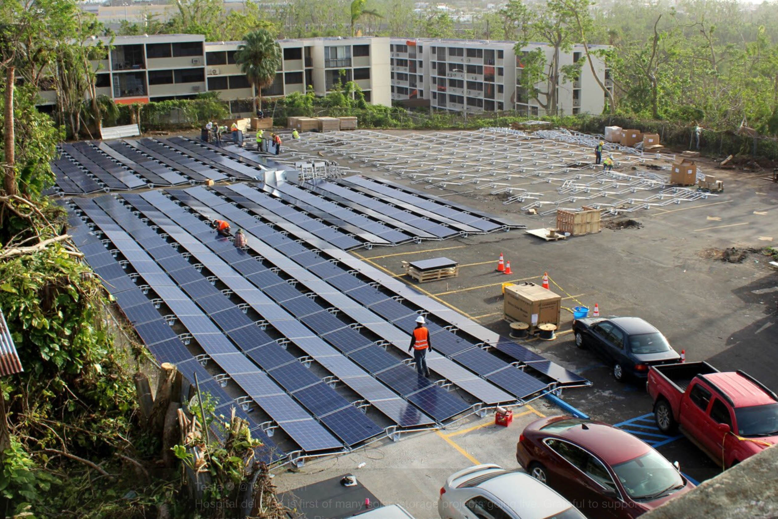 Tesla Brings Solar Power To Puerto Rico 1