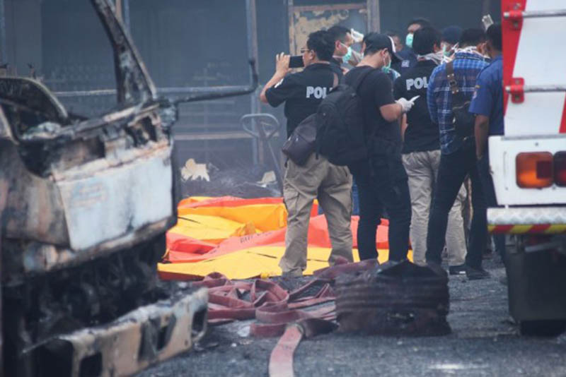 Indonesia,Fireworks factory,23 dead,doesens injured,Tangerang,Jakarta,Fire,Factory,explosion,victims,newsfeeds24,