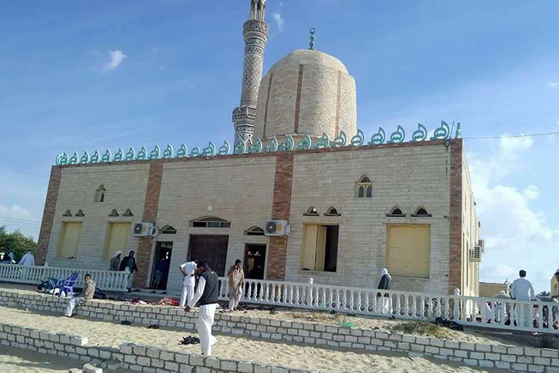 Video: More than 235 killed in Sinai mosque in Egypt 1
