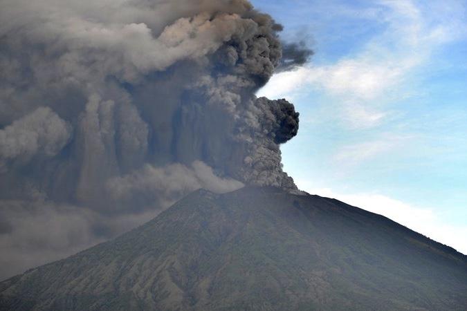 Volcano Alerts In Bali Raises To Highest Level 1