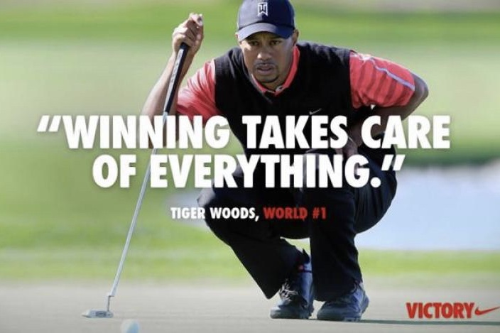 Video: Tiger Woods is back with the eye of the tiger! 1