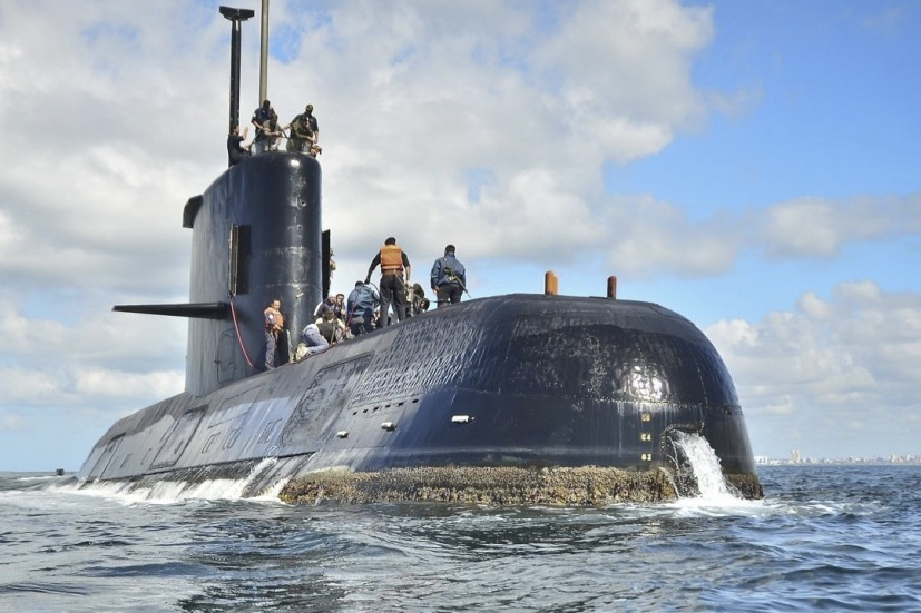 Video: No Sign Of Missing Argentina Submarine 1