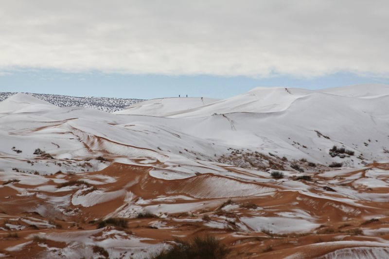 Video: Sahara Desert Gets Snow Fall For The Third Time In 40 Years 1