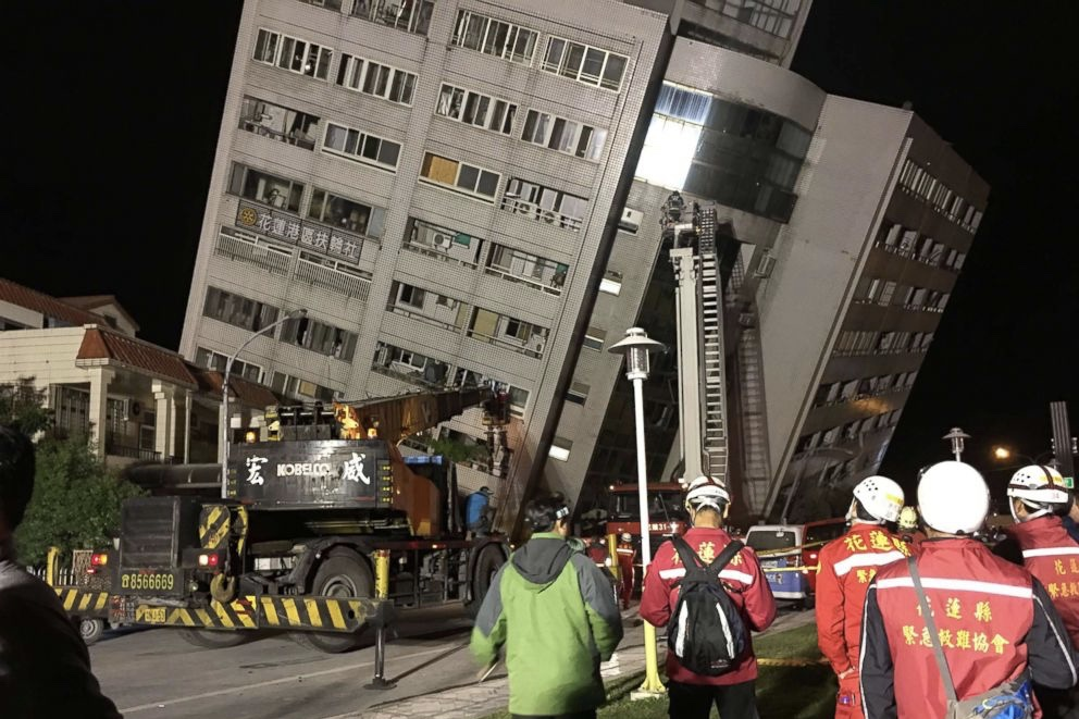Video: 6.4 Magnitude Earthquake In Taiwan Leaves Hundreds Trapped In Collapsing Buildings 1