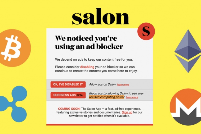 Salon Magazine use readers