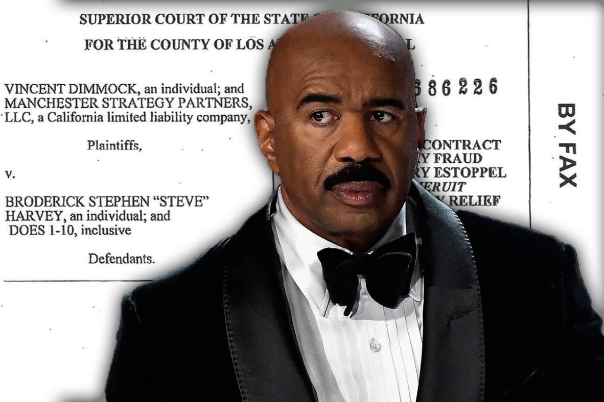 Law suit,Mary Shackelford,Steve Harvey,Entertainment,News,Newsfeeds24,Newsfeeds24.com,