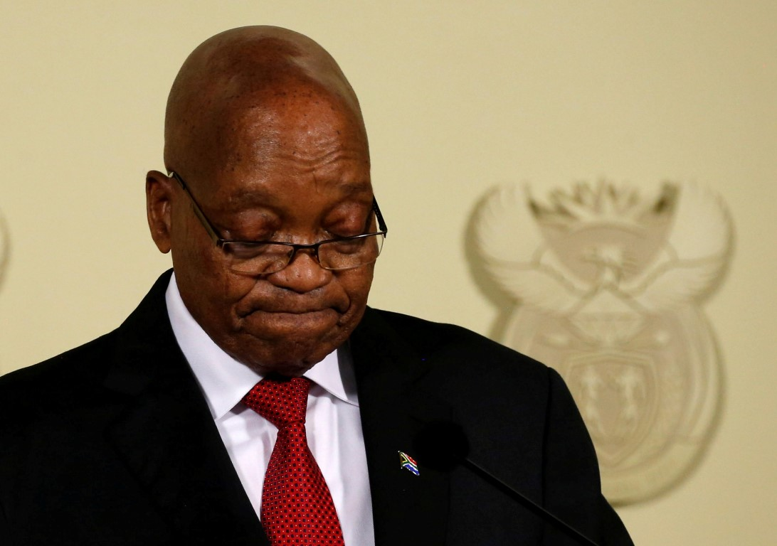 Video: Zuma steps down after pressure from the ANC 1
