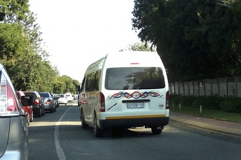 The war with minibus taxis 1
