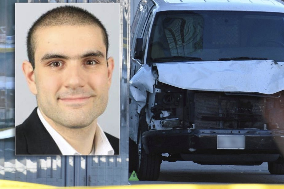 Video: The man who plowed a van into 19 pedestrians has been arrested and identified 1