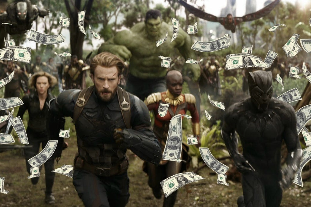 Video: Infinity Wars smashed through box office records world wide 1