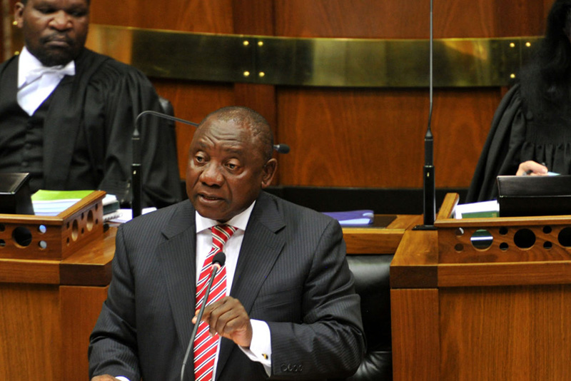 Video: Ramaphosa Tells Steenhuisen To