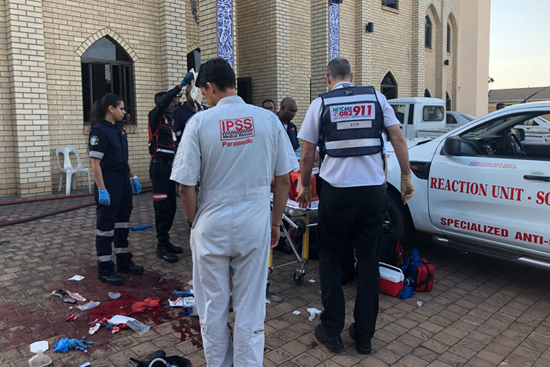 Video: Attack On A Durban Mosque Leaves One Dead And Two Critically Injured 1