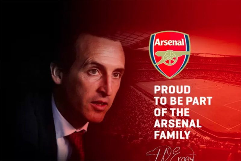 Video: Unai Emery announced as Arsenal coach 1