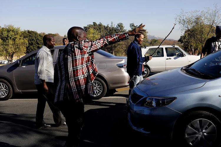 Video: Uber And Taxify Drivers Threaten To Shut Johannesburg Down 1
