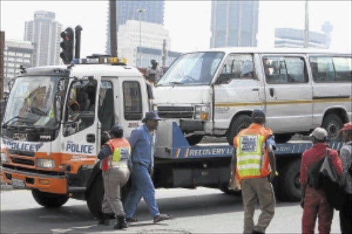 Video: Taxi strike ensues as over 500 unroadworthy taxis were impounded 1