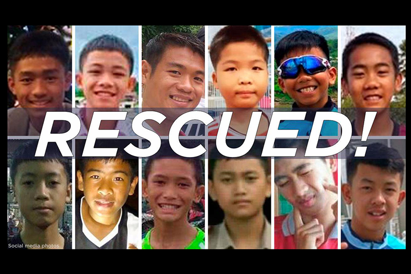 Thailand cave rescue: All 12 boys and their coach rescued 1
