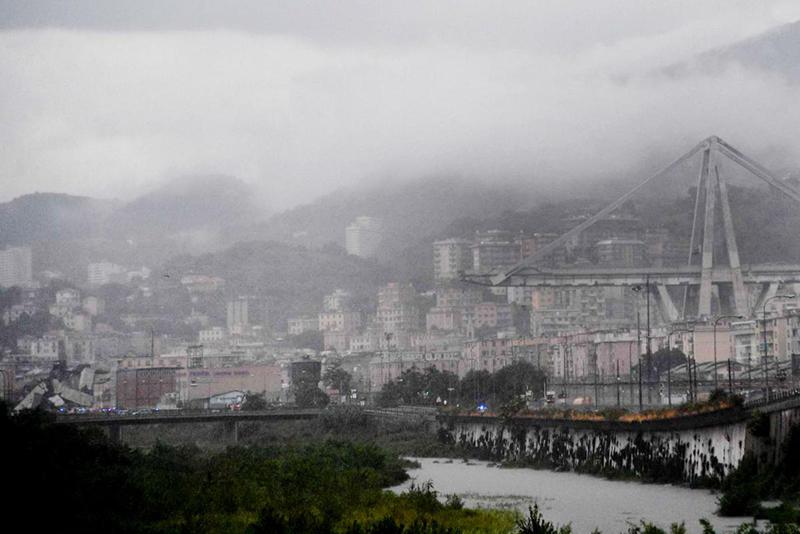 Italy Bridge: 22 Killed As Genoa Motorway Collapses 1