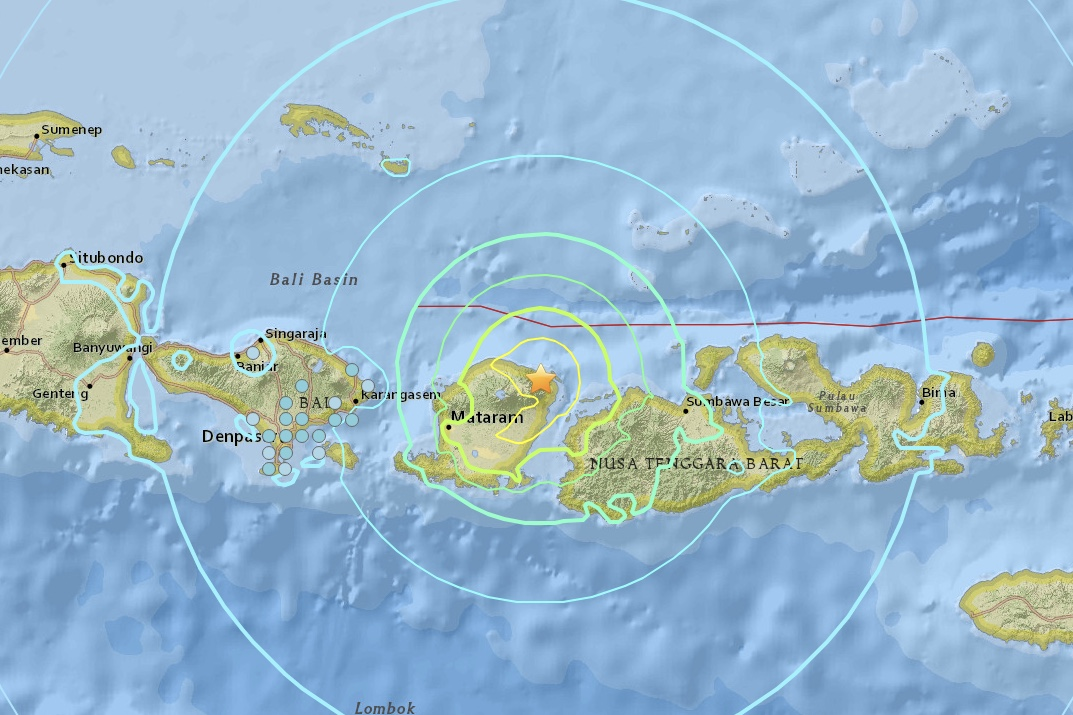 Third Earthquake To Shake Indonesia In Less Than A Month 1