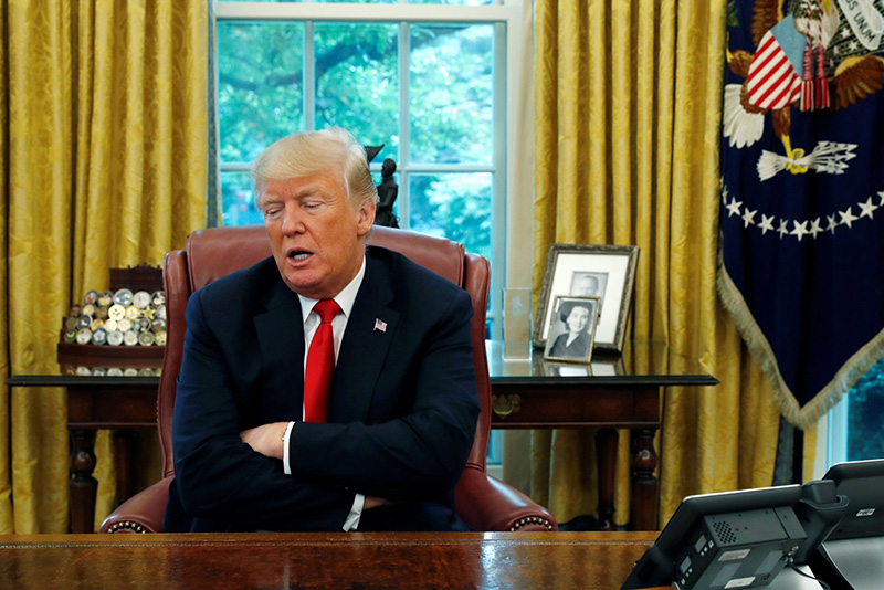 Us President Donald Trump Fears Charges Of Perjury 1