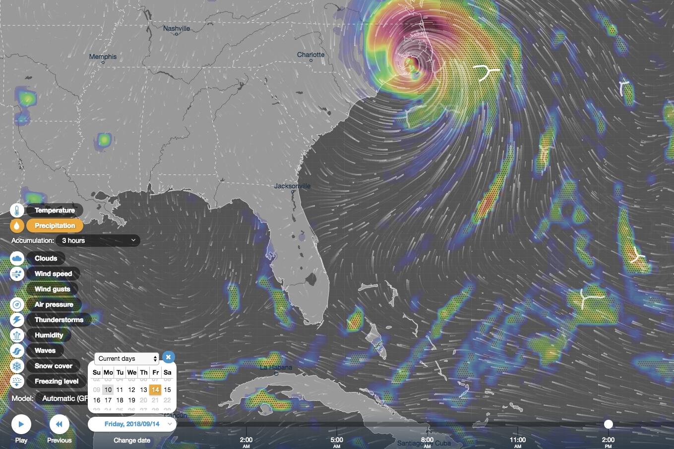 flooding,130mph winds,NHC,state of emergency,category 4 hurricane,hurricane florence,News,