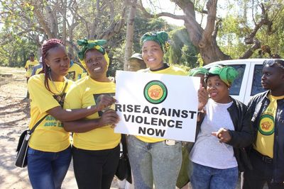 Video: Anc Resorting To Violence To 'solve' Issues