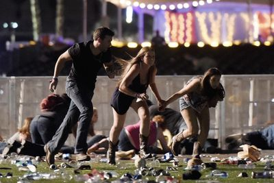 Video: Las Vegas Shooters Arsenal Of At Least 42 Guns, Explosives And Several Thousand Rounds Of Ammo.