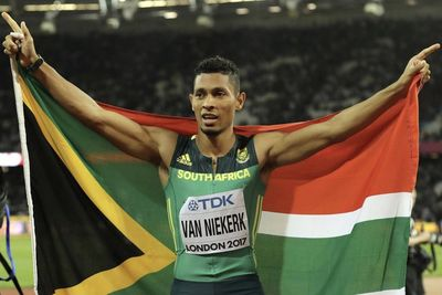 Sas Wayde Van Niekerk Out For Months!