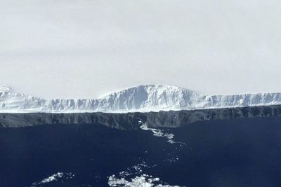 The First Aerial Photos Of The Massive New Antarctic Iceberg. It Is Breathtaking!