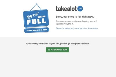 #blackfriday: Takealot's Website Crashes