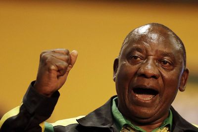 Video: Anc President, Cyril Ramaphosa Takes Jabs At Sa President Jacob Zuma