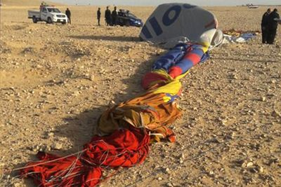 Deadly Hot Air Balloon Crash In Egypt Kills Sa Tourist