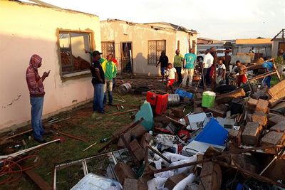 Video: Local State Of Disaster Declared In Johannesburg Following Storm