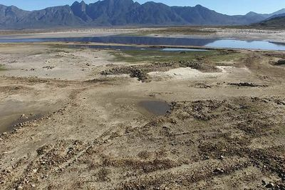 Footage: The Theewaterskloof Dam Is Only 16.8% Full