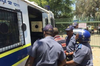 Video: Eff Causes Chaos Outside An Afrikaans Highschool