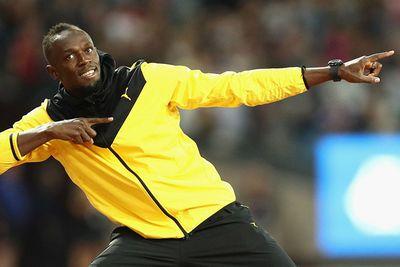 Video: Olympian Usain Bolt Trains With Mamelodi Sundowns