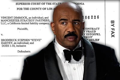Video: Steve Harvey's ex-wife attempts $60 million revenge law suit