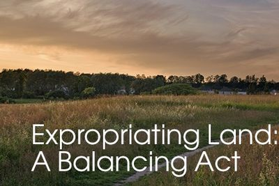 Land expropriation – balancing the people and the land
