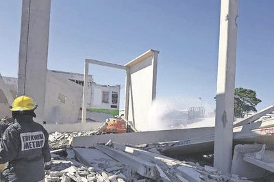 Durban Building Collapse, Two Dead And Five Injured