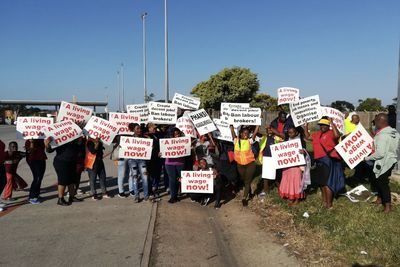 Video: South African Transport System Grinds To A Halt As Bus Drivers Strike For Better Wages