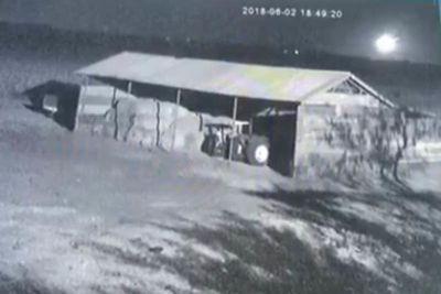 Video: Meteorite Caught On Security Camera As It Crashes In Botswana