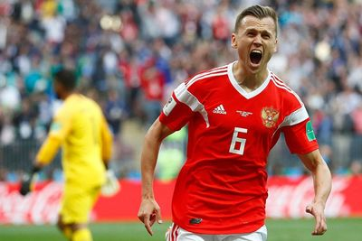 Russia Thrashes Saudi Arabia In The World Cup Opener