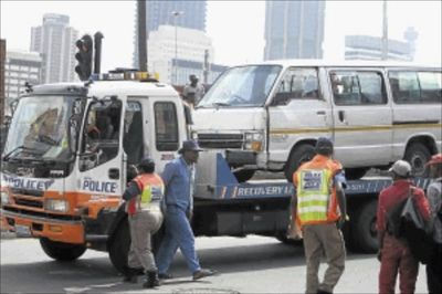 Video: Taxi strike ensues as over 500 unroadworthy taxis were impounded