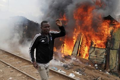 Video: Deadly Fires Engulf Townships In Johannesburg And Cape Town Leaving Residents Homeless