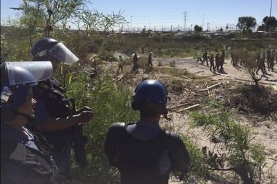 Illegal land grabs and violent protests in Ennerdale